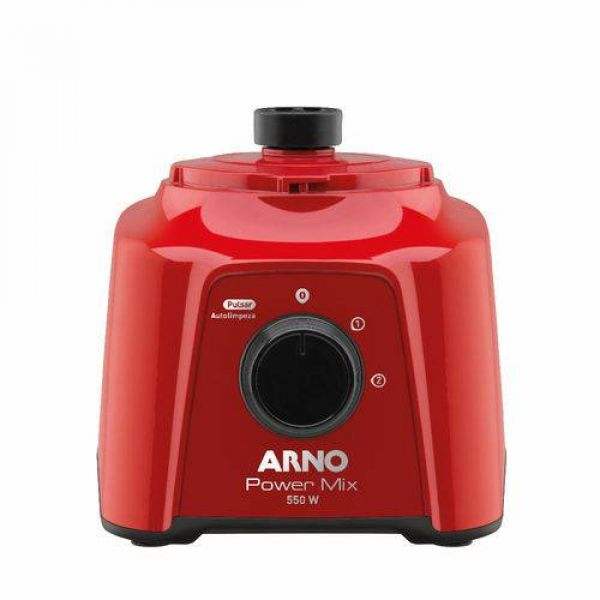 Liquidificador Arno Power Mix Vermelho LQ11 550W