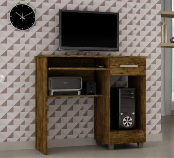 Mesa para Computador Magno Zambee Bronze
