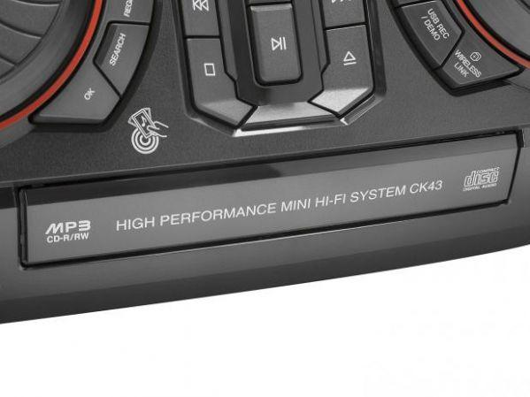 Mini System LG Bluetooth USB CD Player FM MP3 220W 2 Caixas Xboom CK43