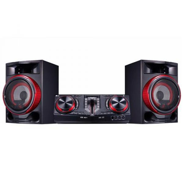 Mini System LG CJ87 XBoom Dual USB Multi Bluetooth 1800W