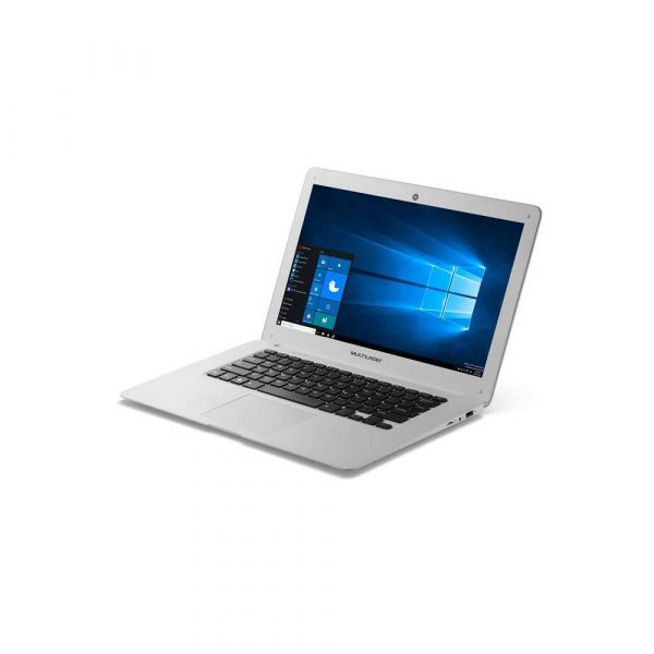 Notebook Legacy Intel Quad Core Tela HD 14 Windows 10 2GB RAM  Multilaser Branco PC102