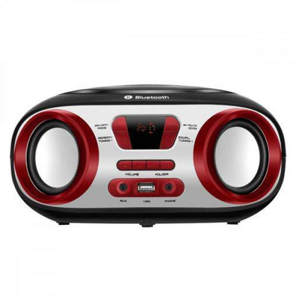Rádio Portátil Mondial Boombox BX-20 Bluetooth FM USB Auxiliar