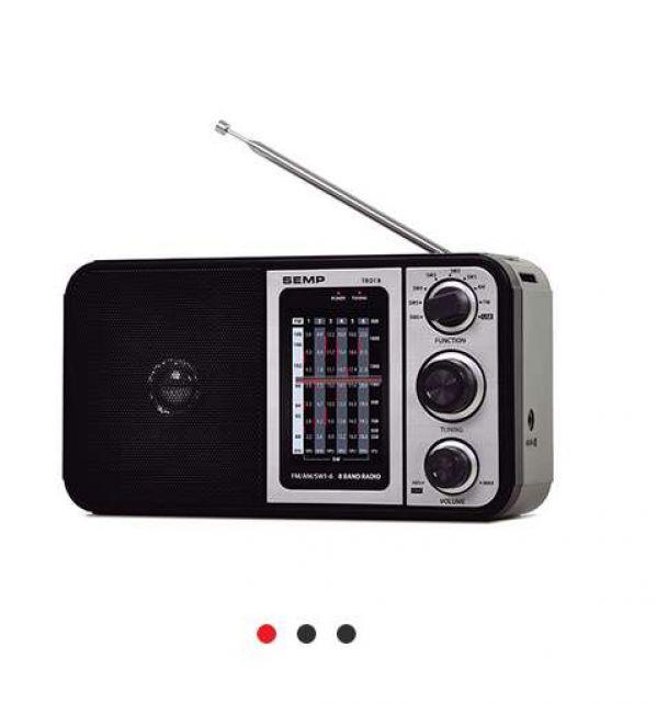 Radio Portatil Multibanda Semp Tcl TR01B 8 Faixas