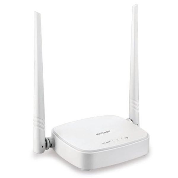 Roteador Wireless Multilaser Re160v 300 Mbps 2 Antenas 5dbi