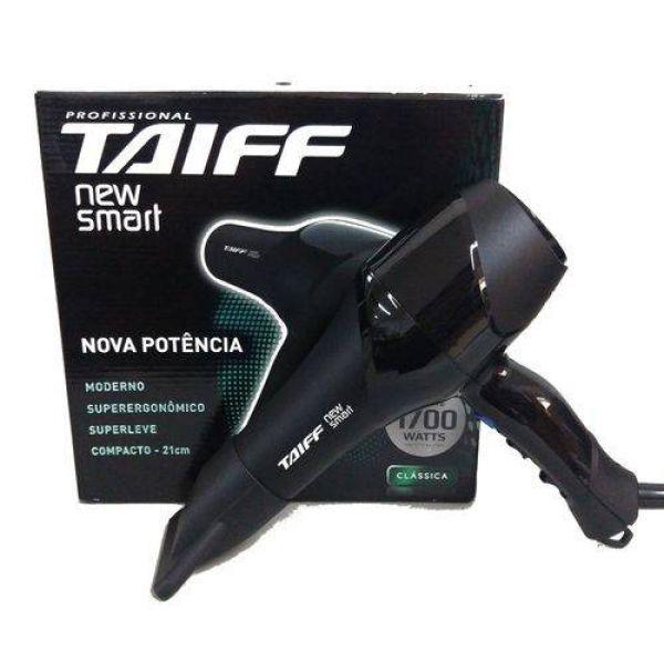 Secador de Cabelos Taiff New Smart Motor AC Profissional 1700W Preto