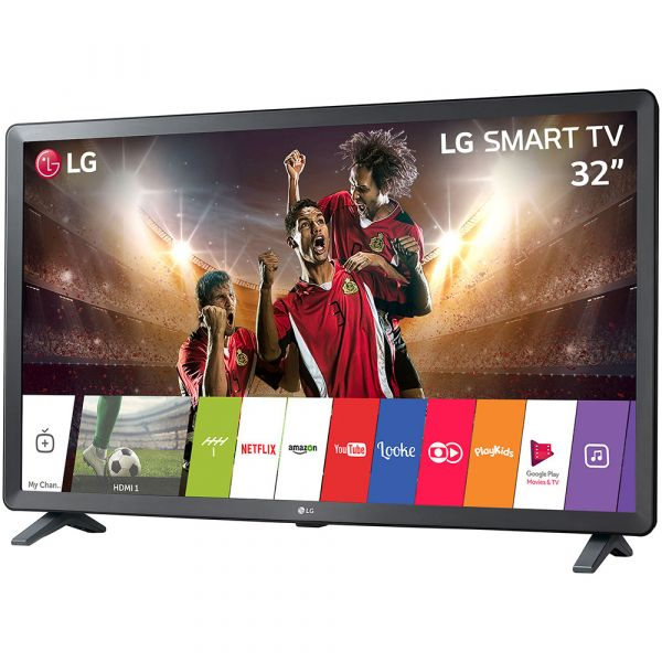 Smart TV LED 32 32LK615BPSB HD com Conversor Digital 2 HDMI 2 USB Wi-Fi Webos 4.0 Time Machine Ready 60Hz Preta