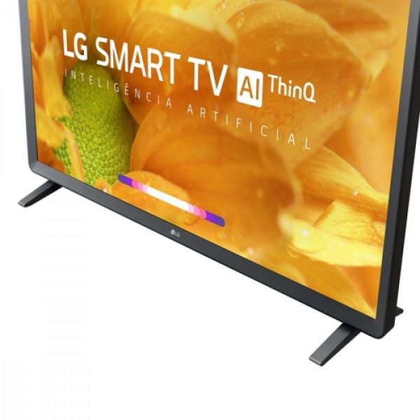 Smart TV LED 32 LG HDR Ativo, Virtual Surround Sound, Wi-Fi, Inteligência Artificial, ThinQ AI