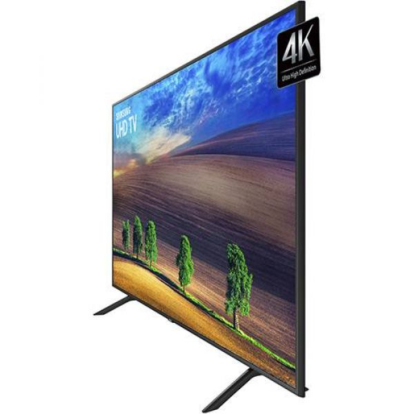 Smart TV LED 55 Samsung Ultra HD 4k 55NU7100 com Conversor Digital 3 HDMI 2 USB Wi-Fi Solução Inteligente de Cabos HDR Premium Smart Tizen