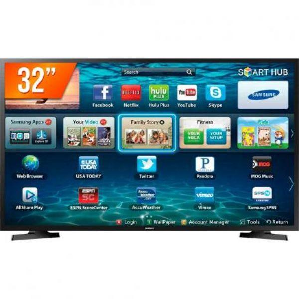 Smart TV Samsung 32 HD WiFi Hdmi Usb LH32/ZD
