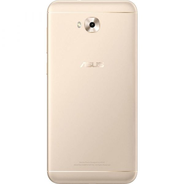 Smartphone Asus Zenfone 4 Selfie ZB553KL Dual Chip Android 7 Tela 5.5 Snapdragon 64GB 4G Câmera Traseira 16MP Dual Frontal 20MP + 8MP Dourado