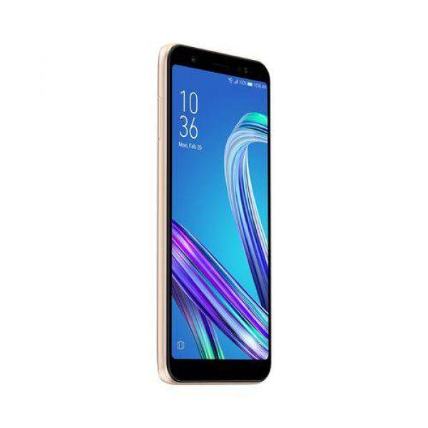 Smartphone Asus Zenfone Live L1 ZA550KL Dourado 32GB, Tela 5.5, Dual Chip, Câmera 13MP, 4G, Android 8.0, Processador Octa Core e 2GB de RAM