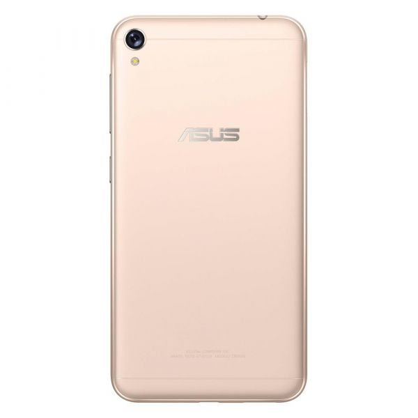 Smartphone Asus Zenfone Live ZB501KL 32GB, Tela 5.0, Dual Chip, Câmera 13MP, 4G, TV Digital, Android 6.0, Processador Quad Core e 2GB de RAM Dourado
