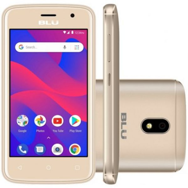 Smartphone Blu C4 C050L Dual Sim 3G Tela 4.0 8GB Dourado