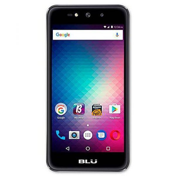 Smartphone Blu Grand X G090Q Dual Chip 8GB Tela HD 5.0 Câmera 5MP Android 6.0 Preto