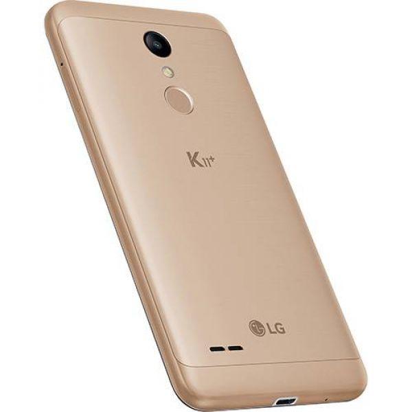 Smartphone LG K11+ 32GB Dual Chip Android 7.0 Tela 5.3 Octa Core 1.5 Ghz 4G Câmera 13MP Dourado