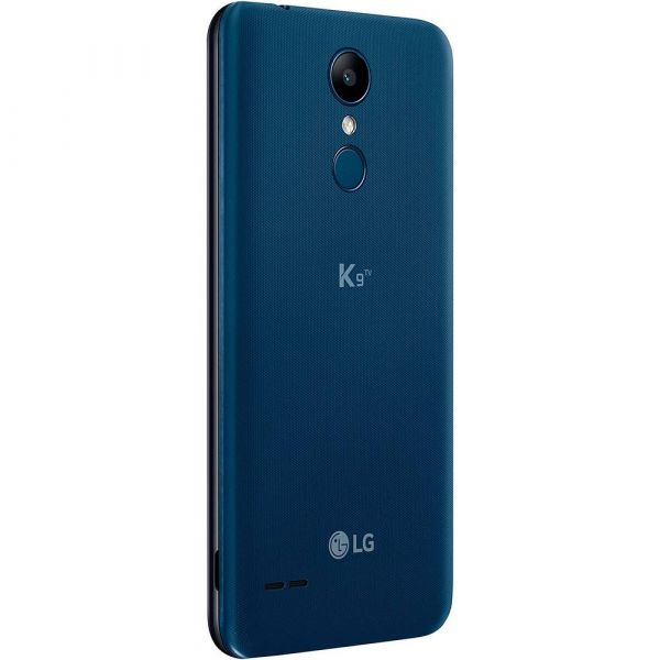 Smartphone LG K9 LMX210 TV com 16GB, Tela de 5.0 HD, Android 7.0, Dual Chip, 4G, Câmera 8MP, Processador Quad Core e 2GB de RAM Azul