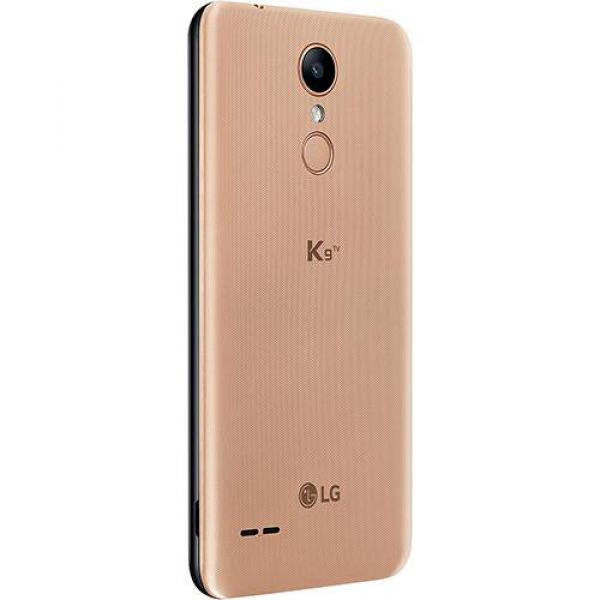 Smartphone LG K9 TV Dual Chip Android 7.0 Tela 5 Quad Core 1.3 Ghz 16GB 4G Câmera 8MP Dourado