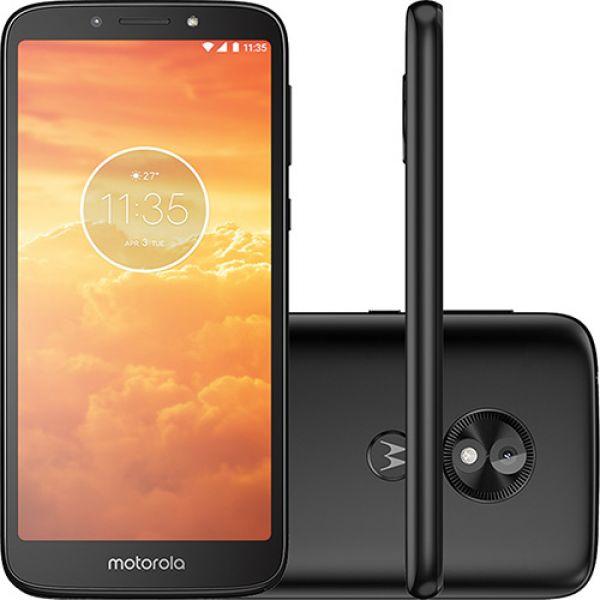 Smartphone Motorola E5 Play Preto 16GB Dual Chip 4G Tela 5.4 Câmera 8MP Quad-Core