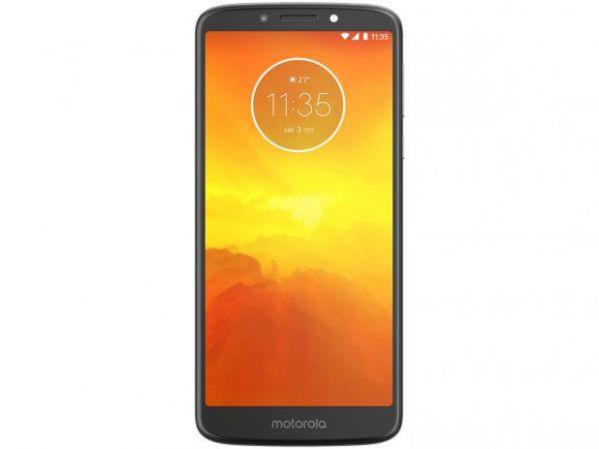 Smartphone Motorola Moto E5 16GB Dual Chip Android Oreo 8.0 Tela 5.7 Quad-Core 1.4 GHz 4G Câmera 13MP Platinum