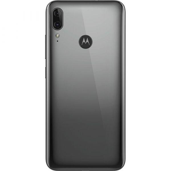 Smartphone Motorola Moto E6 Plus Cinza Metálico 32GB Tela Max Vision de 6.1 Câmera Traseira Dupla Android 9.0 Processador Octa-Core