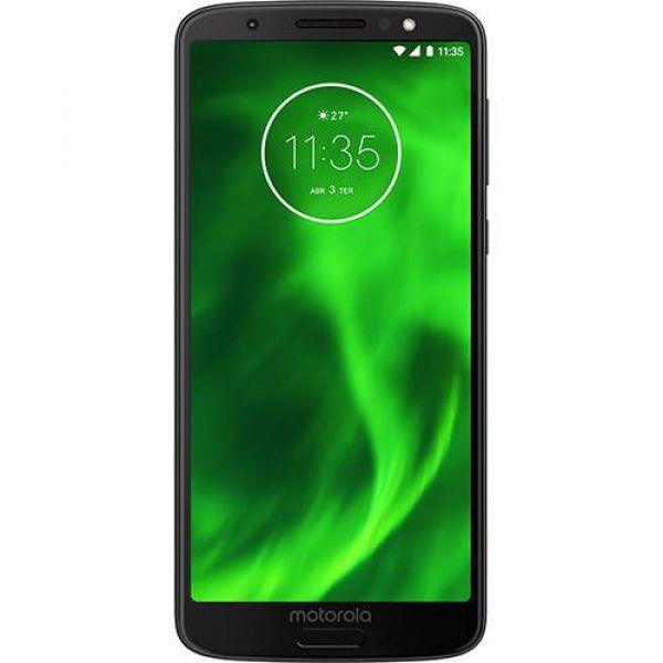 Smartphone Motorola Moto G6 64GB Dual Chip Android Oreo 8.0 Tela 5.7 Octa-Core 1.8 GHz 4G Câmera 12 + 5MP (Dual Traseira) Preto