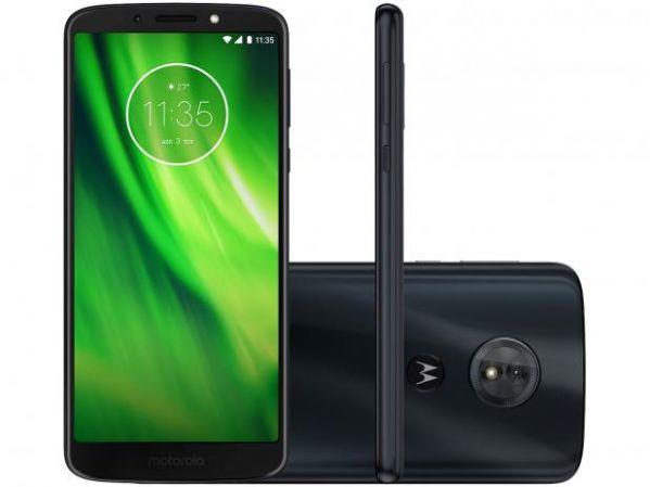 Smartphone Motorola Moto G6 Play Indigo Tela 5.7 Android 8.0 Oreo Câmera 13MP 32GB