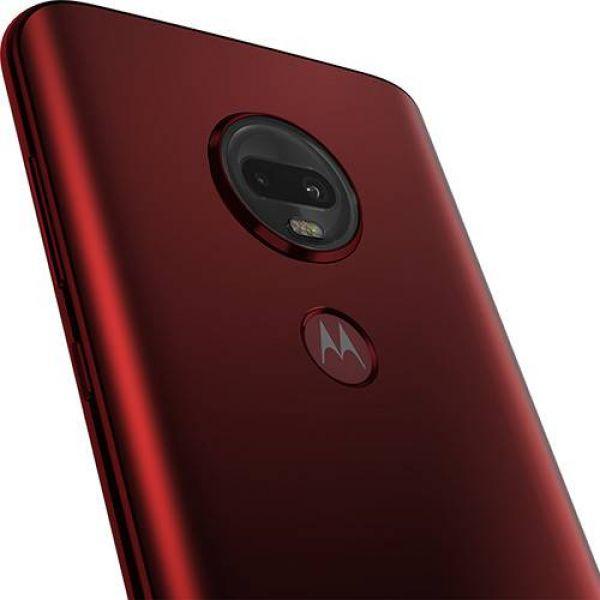 Smartphone Motorola Moto G7 Plus 64GB Dual Chip Android Pie 9.0 Tela 6.3 1.8 GHz Octa-Core 4G Câmera 16MP F1.7 + 5MP F1.9 (Dual Cam) Rubi