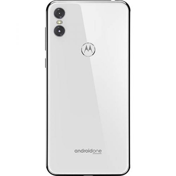 Smartphone Motorola One 64GB Dual Chip Android Oreo 8.1 Tela 5.9 2.0 GHz Octa-Core Qualcomm 4G Câmera 13 + 5MP (Dual Traseira) Branco