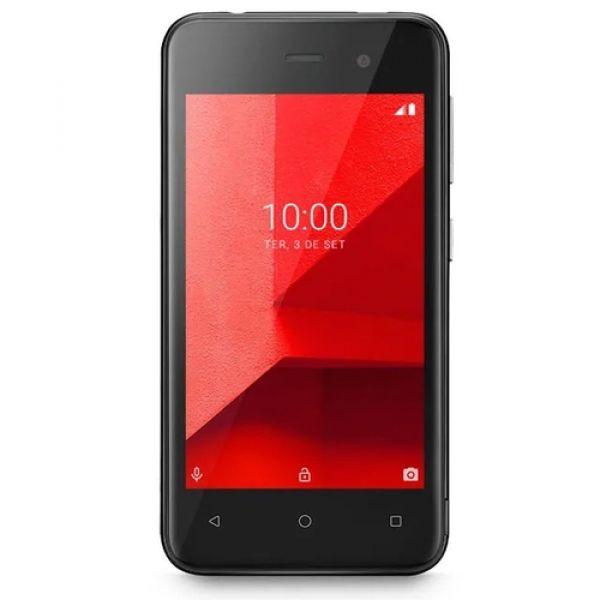 Smartphone Multilaser E Lite NB763 16GB Dual Chip Android 8.1 Tela 4 Quad-Core Câmera 5MP Preto