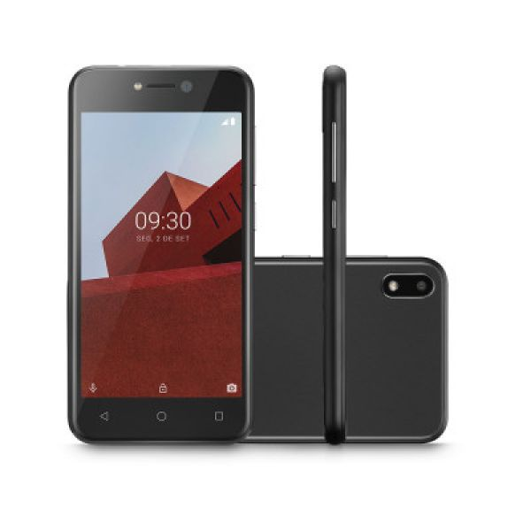 Smartphone Multilaser E NB765 16GB 3G Android 8.1 GO Preto