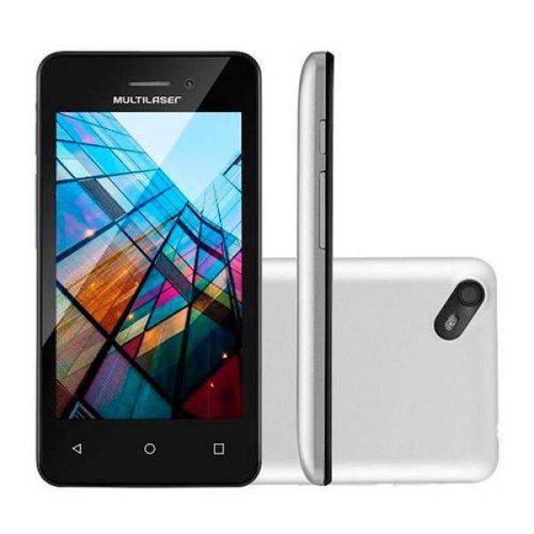 Smartphone Multilaser Ms40s Quad Core 1.2 Ghz Branco