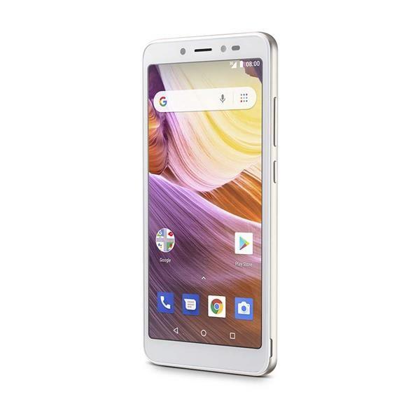 Smartphone Multilaser MS50G 3G Dourado/Branco NB731 Tela 5.5 Android 8.1 Quad Core 1GB RAM