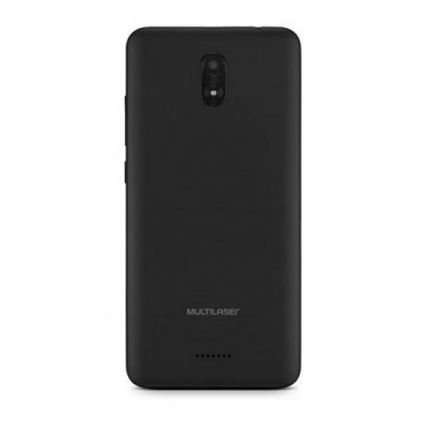 Smartphone Multilaser MS50G 3G Quad Core Tela 5.5 Dual Chip Android 8.1 Câmera 8MP Preto NB736
