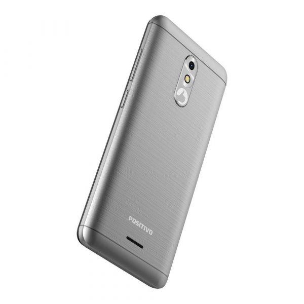 Smartphone Positivo Slim S510 Cinza, Tela De 5 Polegadas, 8GB, 8MP