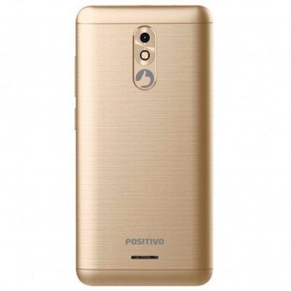 Smartphone Positivo Slim S510 Dourado, Tela De 5 Polegadas, 8GB, 8MP