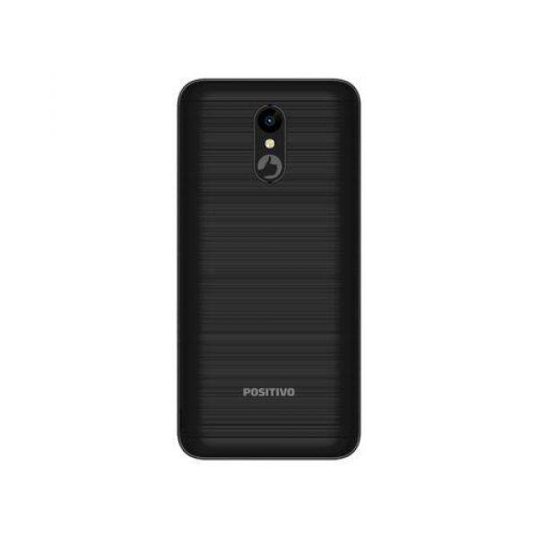 Smartphone Positivo Twist 2 S512 Quad-Core Dual Chip Android Oreo 5,34 Pol Preto