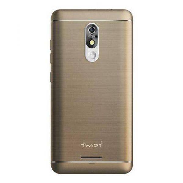 Smartphone Positivo Twist Metal S531 32GB Dual ChipTela 5.2 Quad-Core Android 8.0 Câmera 8MP 3G Dourado