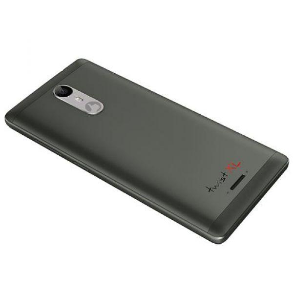 Smartphone Positivo Twist XL S555 Cinza com Dual Chip, Tela 5,5, Android 7.0, Câmera 8MP, 3G, Wi-Fi, Bluetooth e Processador Quad-Core de 1.3 Ghz