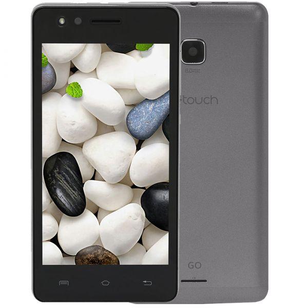 Smartphone Q-TOUCH GO Cinza Tela 4.5 Câmera 8MP