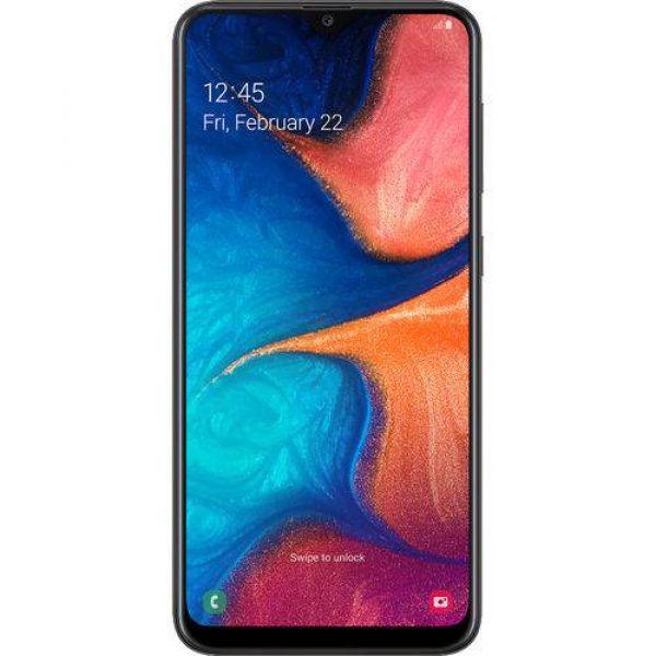Smartphone Samsung Galaxy A20 32GB Dual Chip Android 9.0 Tela 6.4 Octa-Core 4G Câmera Dupla 13MP + 5MP Preto
