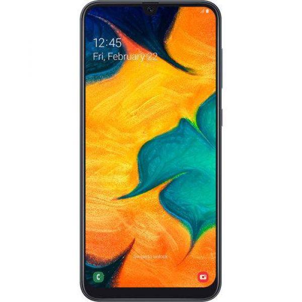Smartphone Samsung Galaxy A30 64GB Dual Chip Android 9.0 Tela 6.4 Octa-Core 4G Câmera 16MP + 5MP Preto