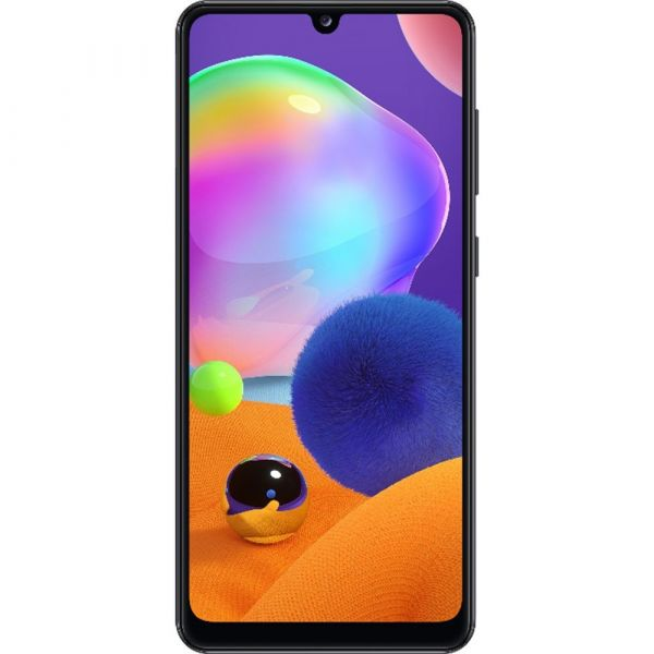 Smartphone Samsung Galaxy A31 Dual Chip Android 10 Tela 6.4 Octa-Core 128GB 4G Câmera Quádrupla 48MP+8MP+5MP+5MP Preto