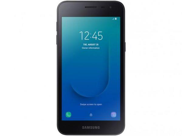Smartphone Samsung Galaxy J2 Core 16GB Dual Chip Android 8.1 Tela 5 Quad-Core 1.4GHz 4G Câmera 8MP Preto