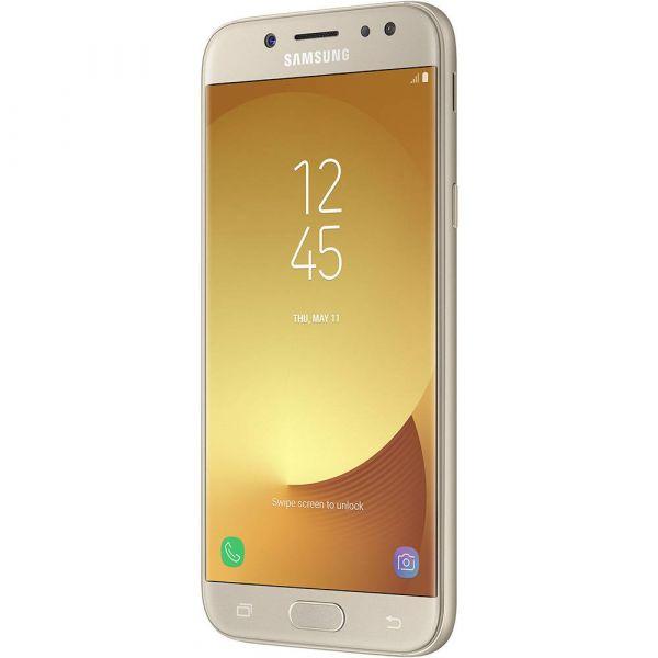 Smartphone Samsung Galaxy J5 Pro Dual Chip Android 7.0 Tela 5,2 Octa Core 1.6 GHz 32GB 4G Câmera 13MP Dourado