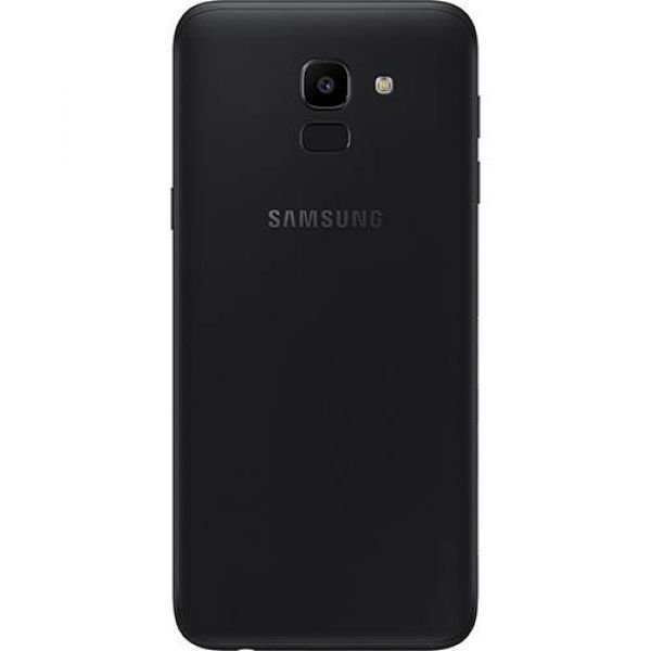 Smartphone Samsung Galaxy J6 32GB Dual Chip Android 8.0 Tela 5.6 Octa-Core 1.6GHz 4G Câmera 13MP com TV Preto