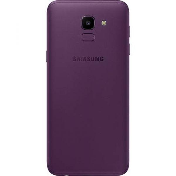 Smartphone Samsung Galaxy J6 32GB Dual Chip Android 8.0 Tela 5.6 Octa-Core 1.6GHz 4G Câmera 13MP Violeta
