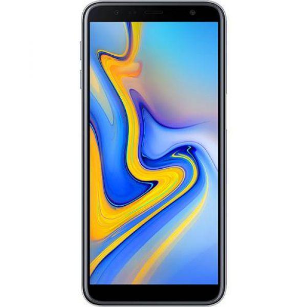 Smartphone Samsung Galaxy J6+ 32GB Dual Chip Android Tela Infinita 6 Quad-Core 1.4GHz 4G Câmera Dupla 13+5MP Prata