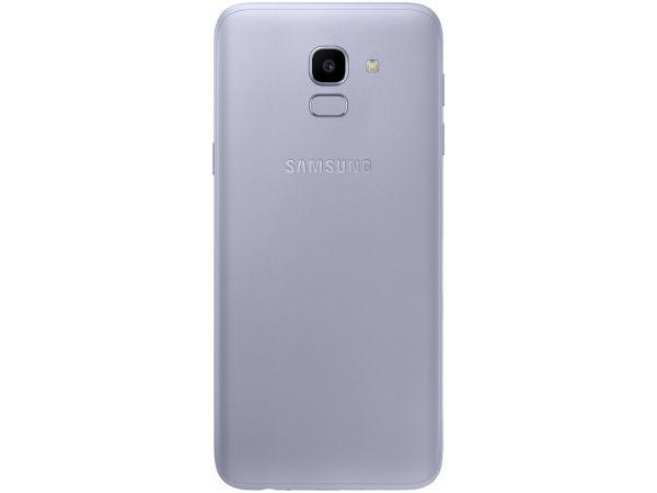 Smartphone Samsung Galaxy J6 32GB Dual Chip Android 8.0 Tela 5.6 Octa-Core 1.6GHz 4G Câmera 13MP com TV Prata
