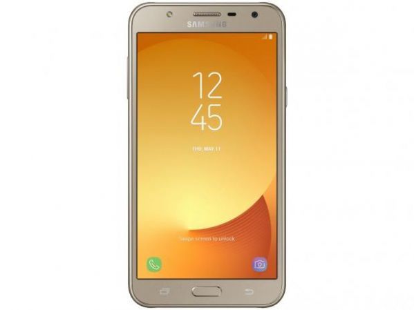 Smartphone Samsung Galaxy J7 Neo J701 TV Digital HD, Dual Chip,Tela 5.5, Câmera 13MP+5MP Frontal Flash LED, OctaCore 1.6GHz, 16GB, 2GB RAM, Android 7, Dourado