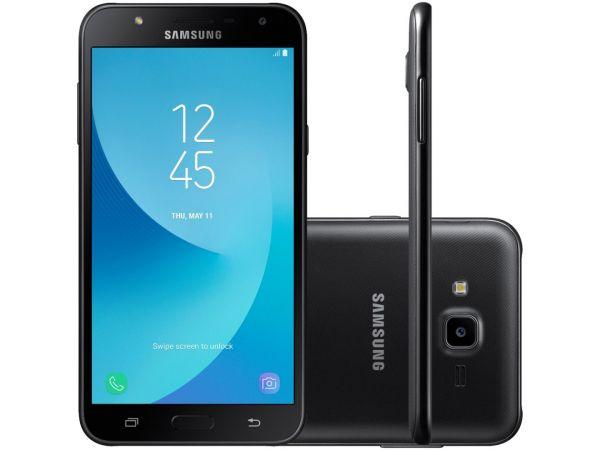 Smartphone Samsung Galaxy J7 Neo J701 TV Digital HD, Dual Chip,Tela 5.5, Câmera 13MP+5MP Frontal Flash LED, OctaCore 1.6GHz, 16GB, 2GB RAM, Android 7, Preto